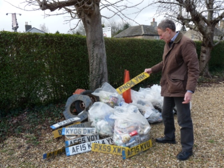 Village Litter Pick 9th March – date for your diary