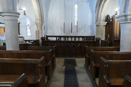 BENEFICE SERVICE AT ST. PETER'S, MAXEY