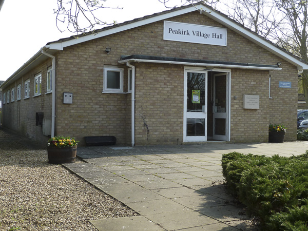 CLOSURE OF PEAKIRK VILLAGE HALL