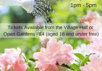 Peakirk open gardens poster