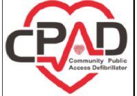 Community public acccess defibrillator logo