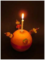 1st December – Christingle and Christmas light switch-on