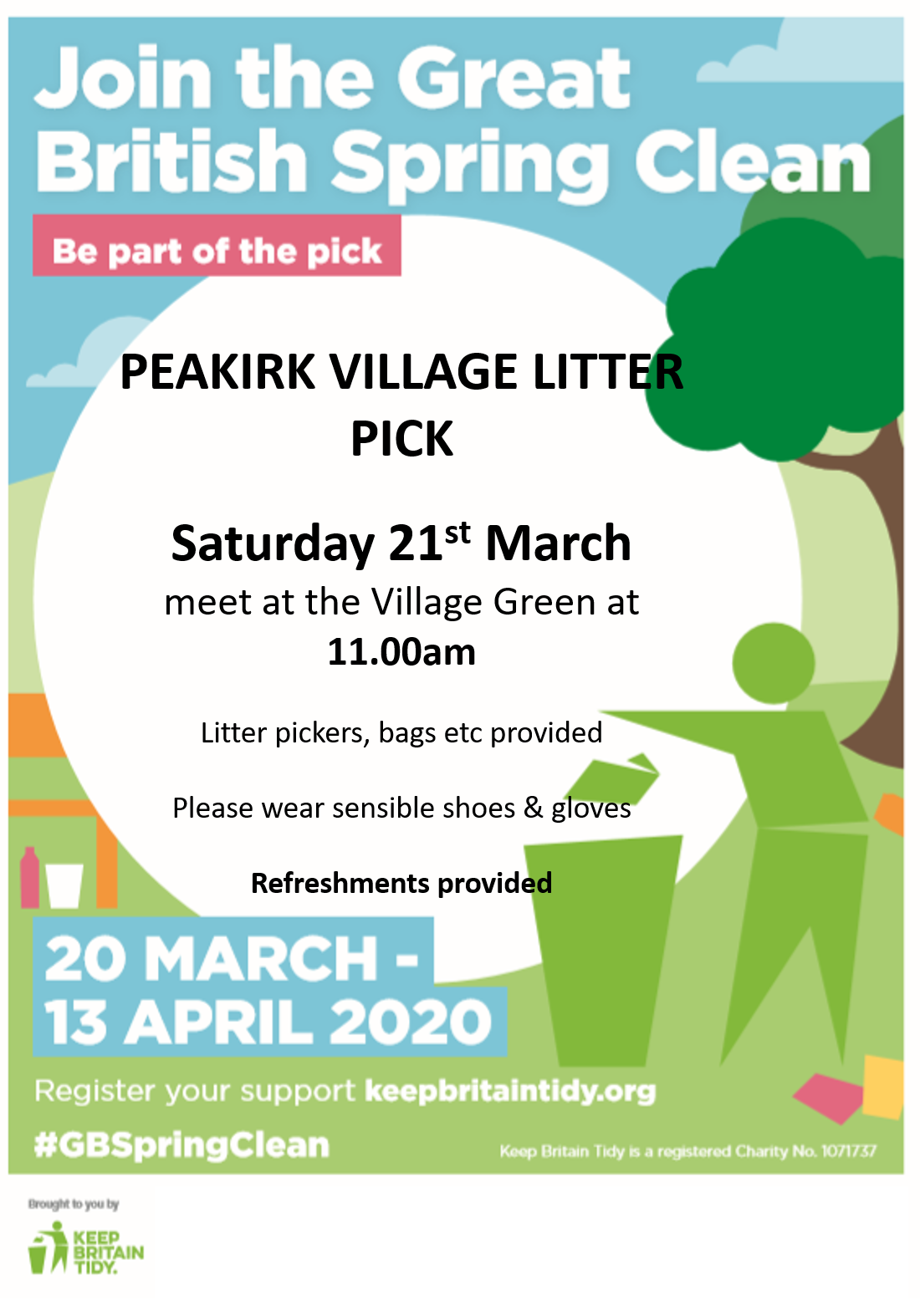 Play Your Part in the Litter Pick – EVENT CANCELLED